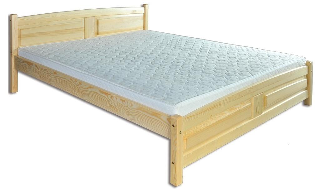 Manželská postel 200 cm - Drewmax - LK 104 (masiv)