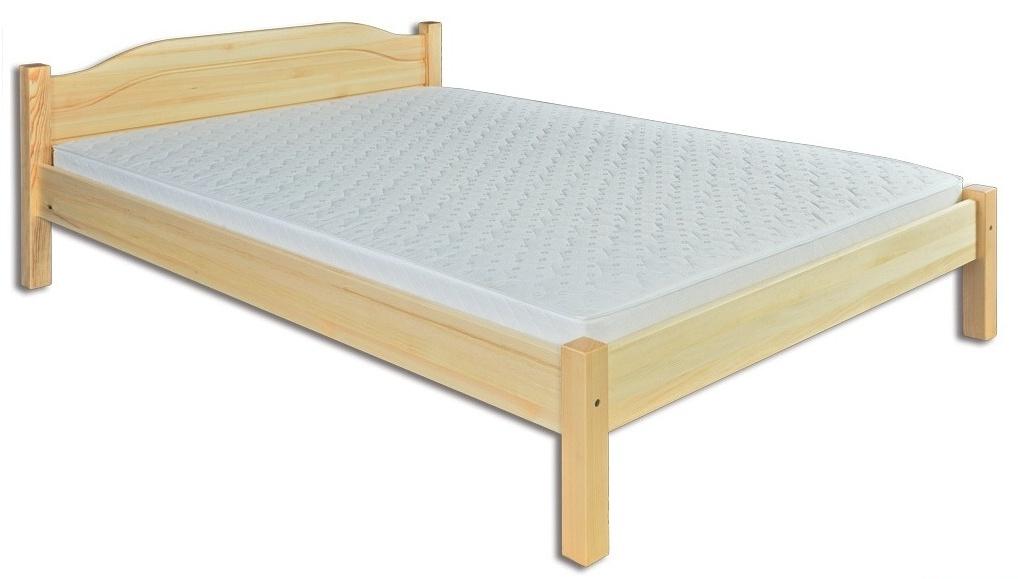 Manželská postel 200 cm - Drewmax - LK 106 (masiv)