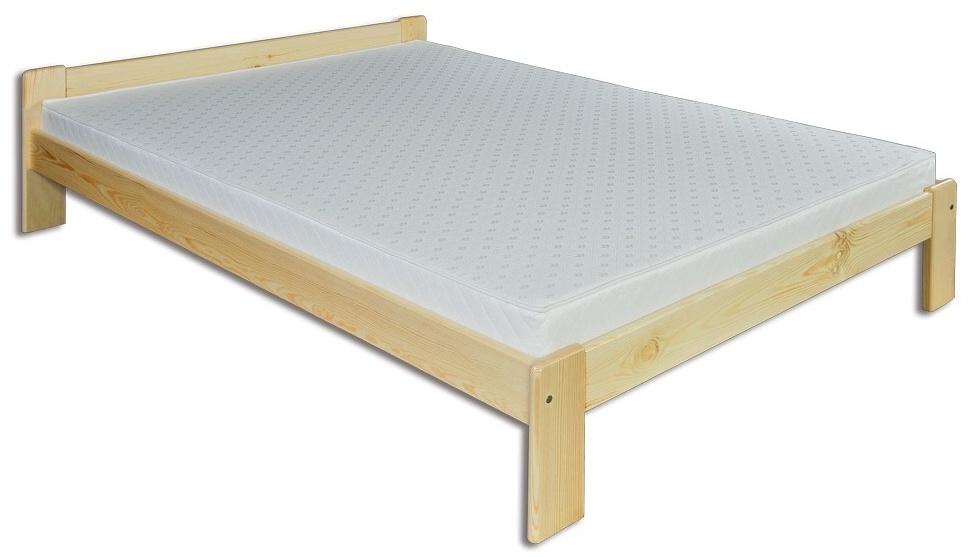 Jednolůžková postel 120 cm - Drewmax - LK 107 (masiv)