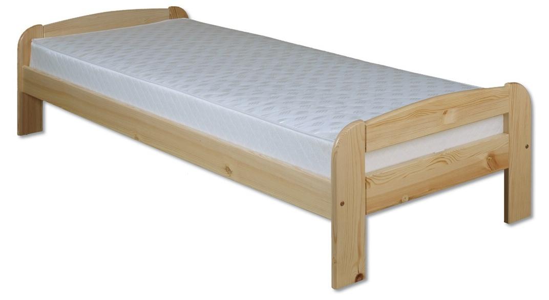 Jednolůžková postel 80 cm - Drewmax - LK 122 (masiv)