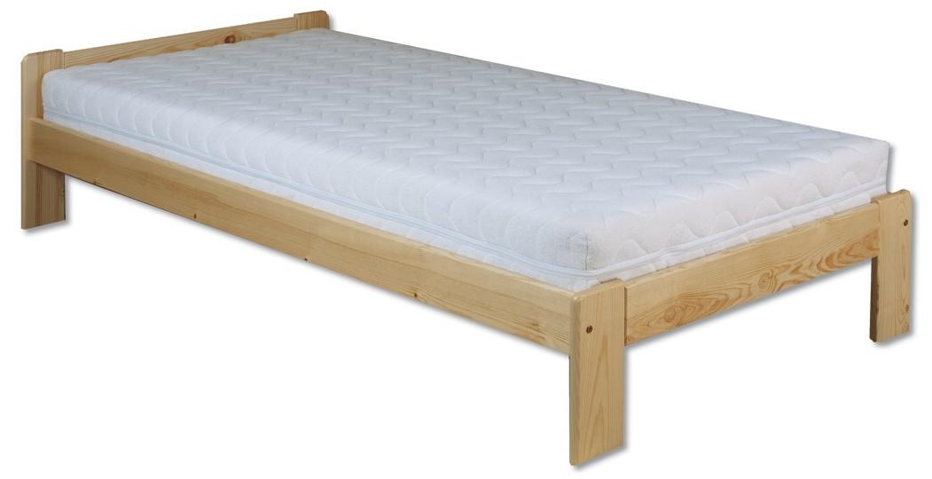 Jednolůžková postel 80 cm - Drewmax - LK 123 (masiv)