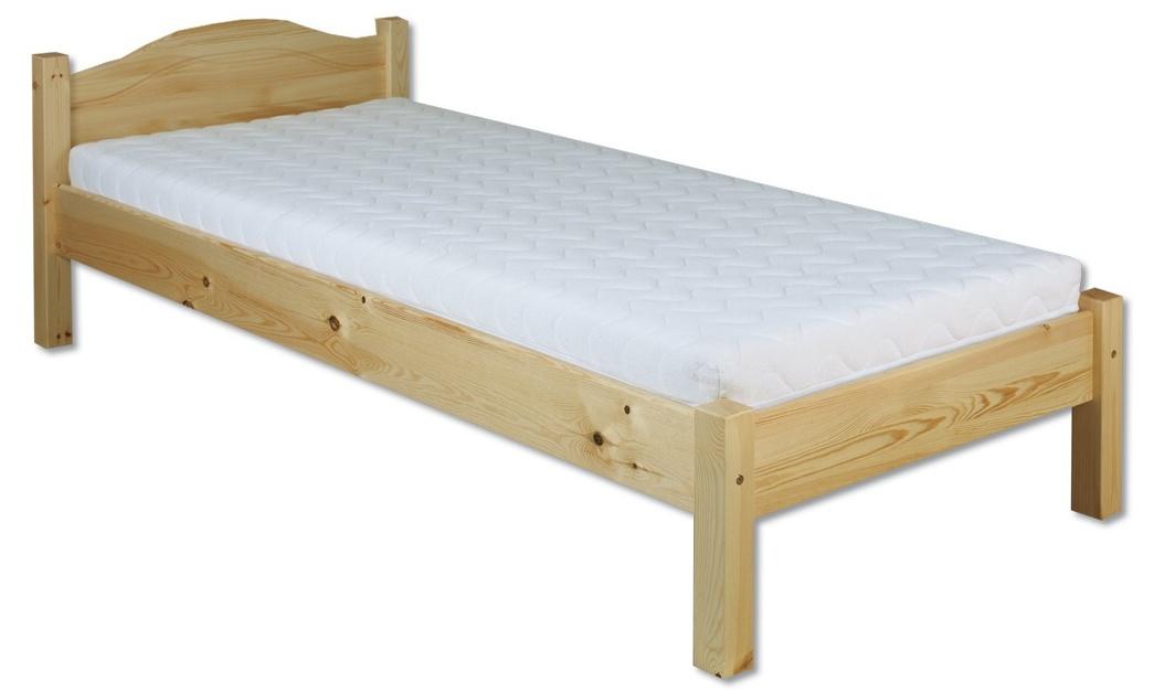 Jednolůžková postel 80 cm - Drewmax - LK 124 (masiv)