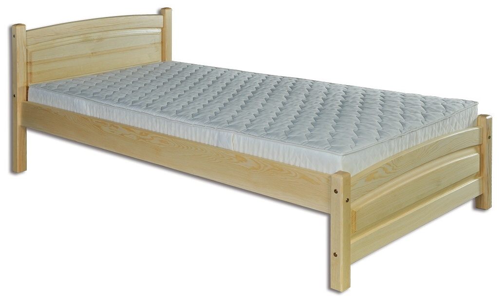 Jednolůžková postel 80 cm - Drewmax - LK 125 (masiv)
