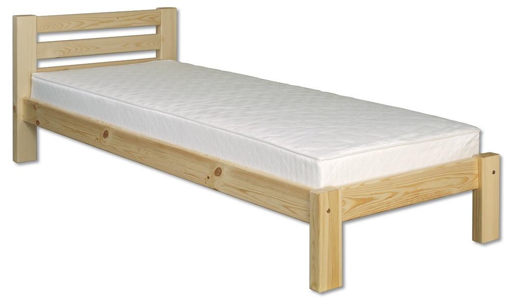 Jednolůžková postel 80 cm - Drewmax - LK 127 (masiv)