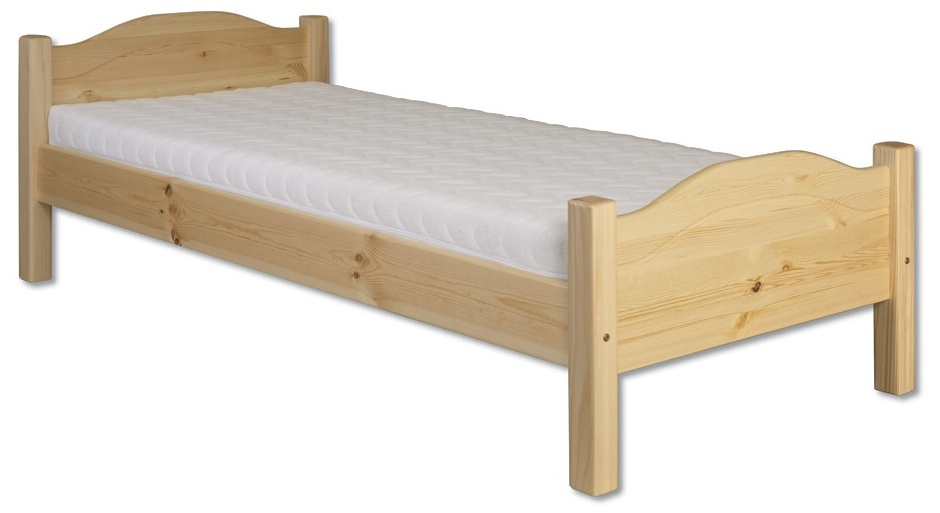 Jednolůžková postel 80 cm - Drewmax - LK 128 (masiv)