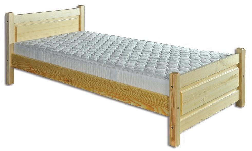 Jednolůžková postel 80 cm - Drewmax - LK 129 (masiv)