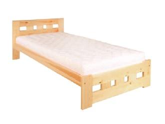 Jednolůžková postel 80 cm - Drewmax - LK 145 (masiv)