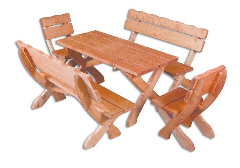 Zahradní nábytek - Drewmax - MO105 1+2+2