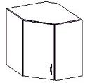 Horní kuchyňská skříňka rohová - Famm - Chamonix - 60 60 NAR G 72