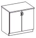 Spodní kuchyňská skříňka - Famm - Chamonix - 80 D 2F ZB