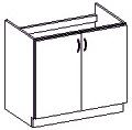 Spodní kuchyňská skříňka - Famm - Chamonix - 80 ZL 2F BB