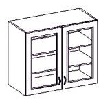 Horní kuchyňská skříňka - Famm - Kora - 80 GS 72