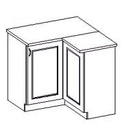 Spodní kuchyňská skříňka rohová - Famm - Kora - 90 90 DN ZB