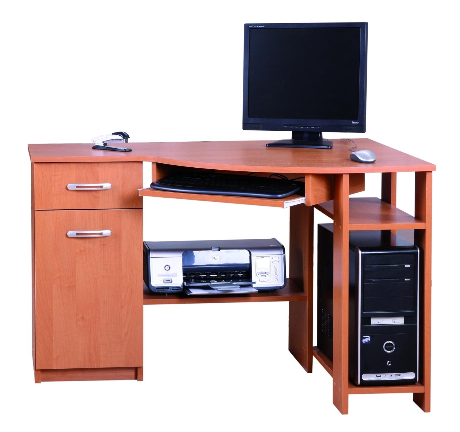 Rohový PC stolek - Famm - Horn 4