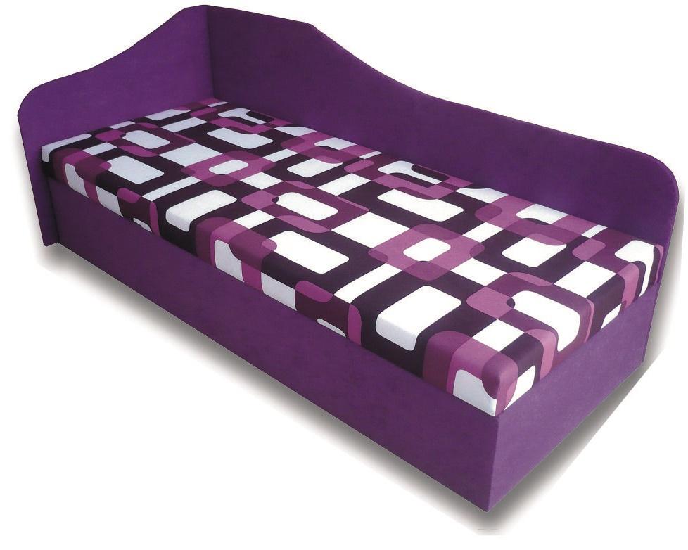 Jednolůžková postel (válenda) 80 cm - Famm - Lux 87 (L) (s matrací)