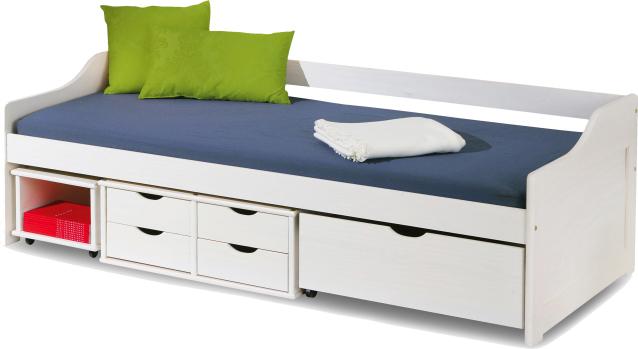 Jednolůžková postel 90 cm - Famm - Floro (s roštem)