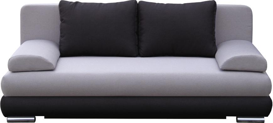 Pohovka - Famm - Double 3R černá
