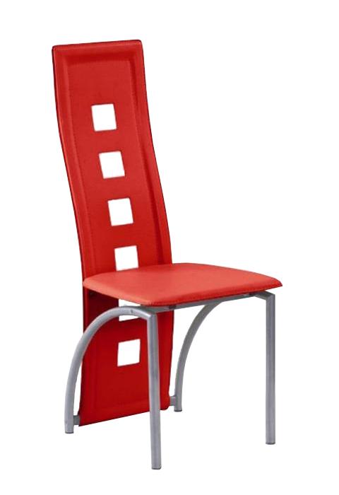 Jídelní židle - Famm - K4 M červená