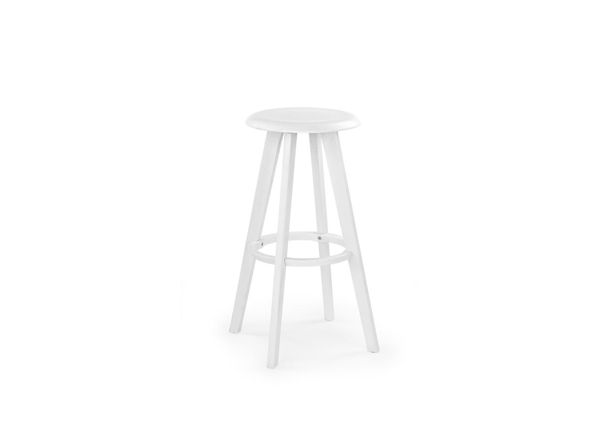 Barová židle - Halmar - H-77 (bílá)