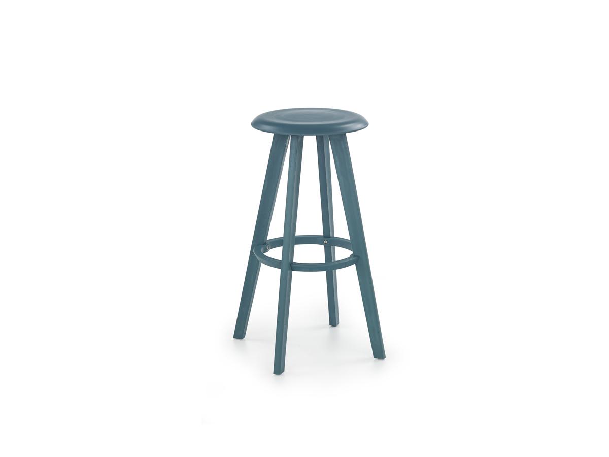 Barová židle - Halmar - H-77 (tyrkysová)