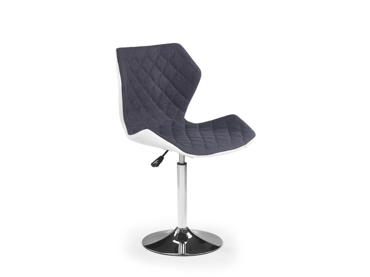 Barová židle - Halmar - Matrix 2 (šedá + bílá)