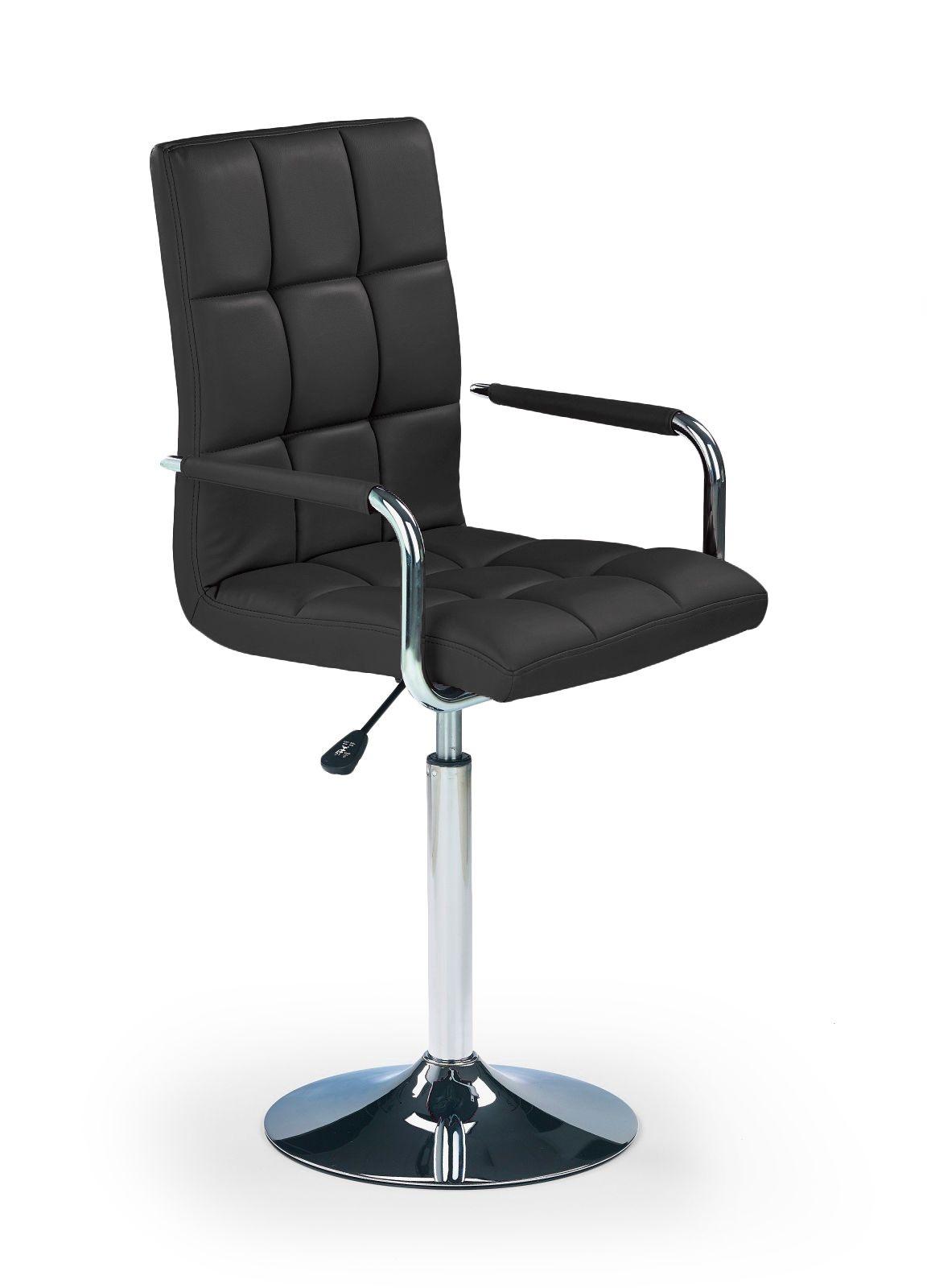 Barová židle - Halmar - Gonzo černá