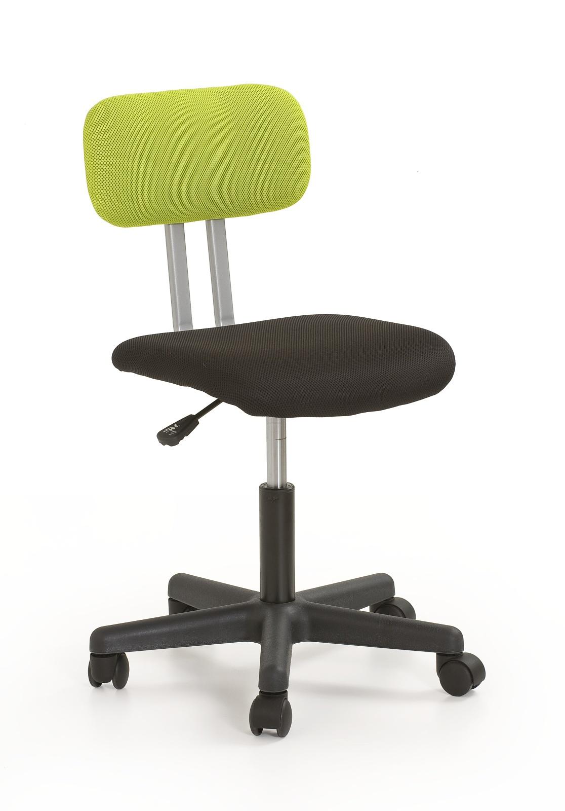 Dětská židle - Halmar - Play černá + zelená