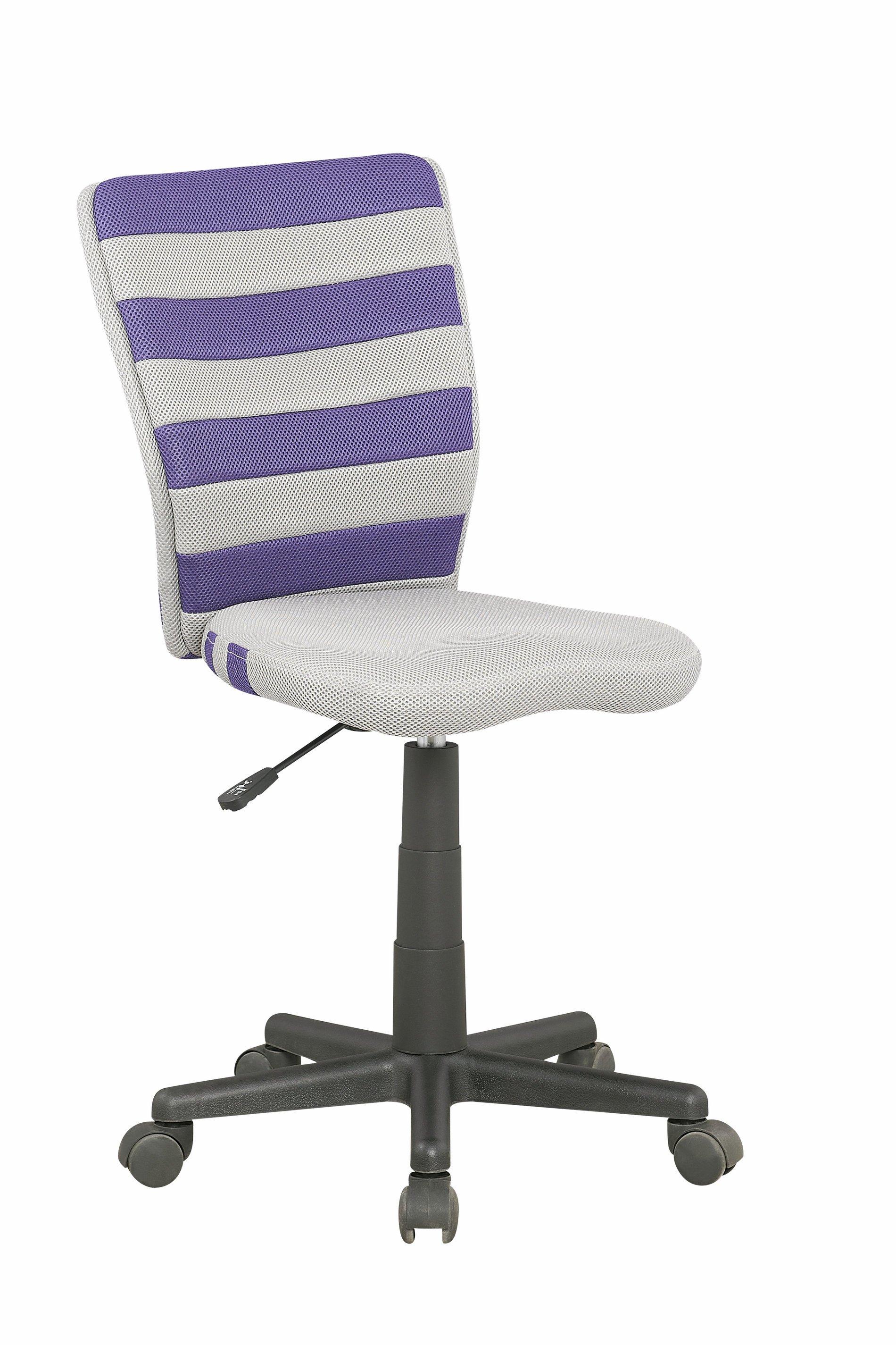 Dětská židle - Halmar - Fuego (šedá + fialová)