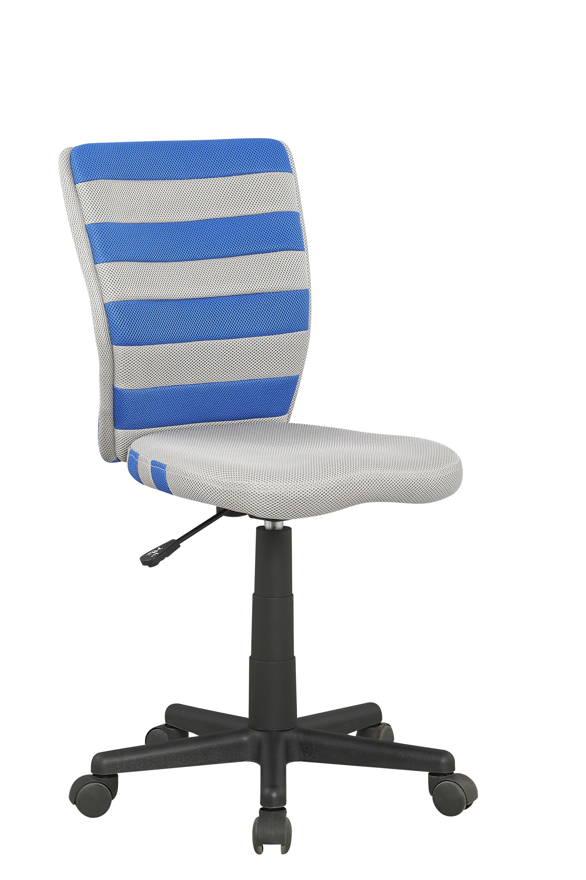Dětská židle - Halmar - Fuego (šedá + modrá)