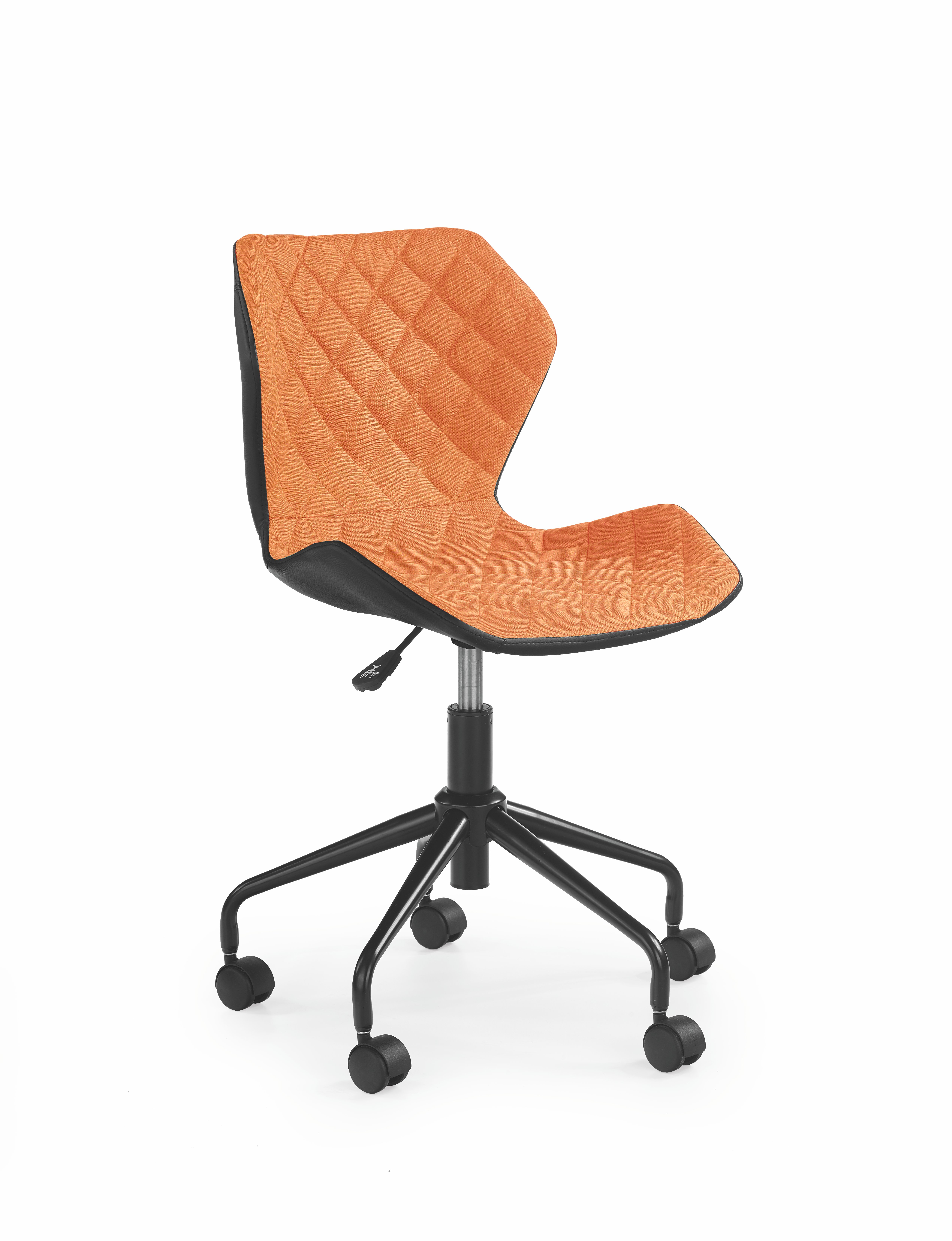 Dětská židle - Halmar - Matrix (oranžová + černá)