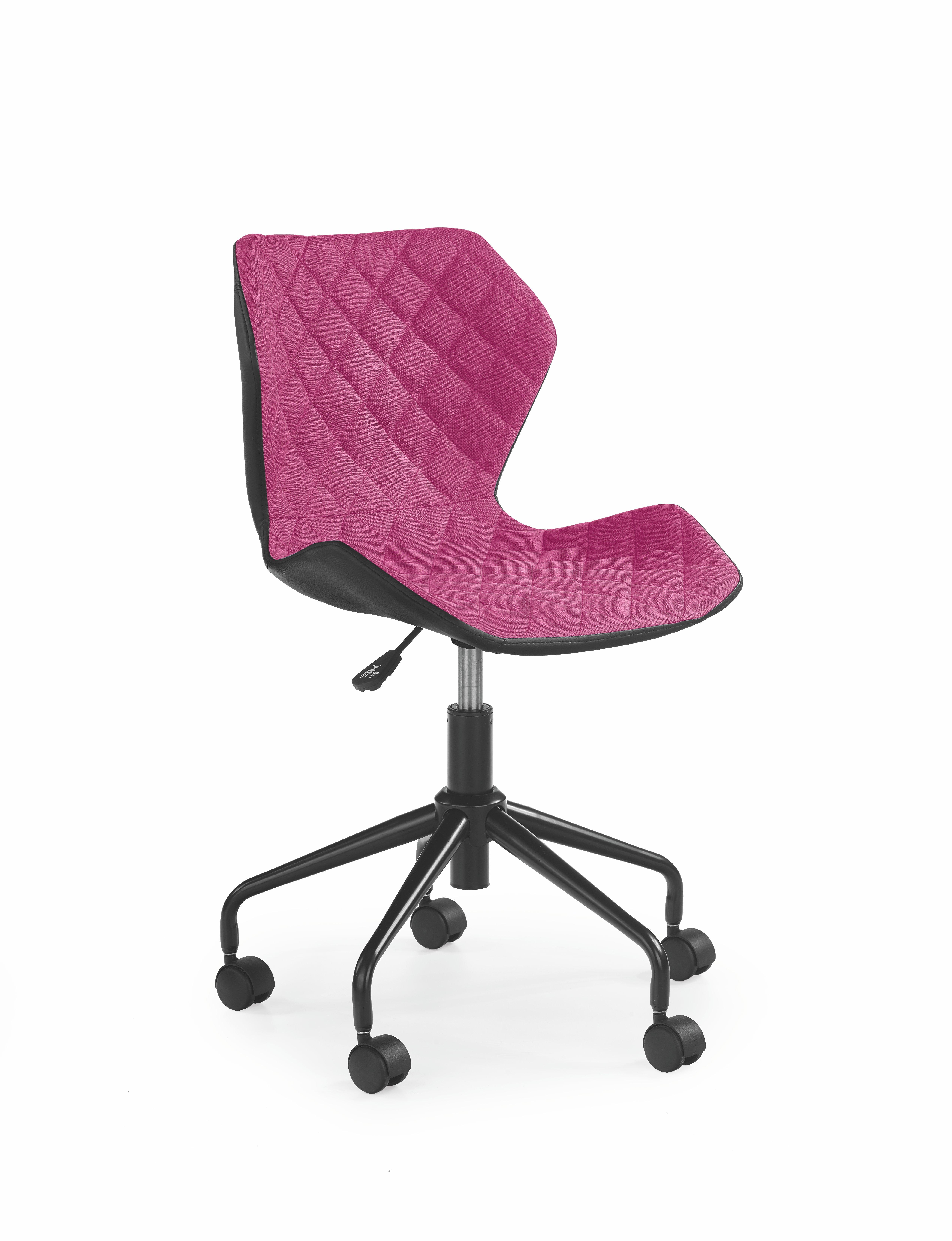 Dětská židle - Halmar - Matrix (růžová + černá)
