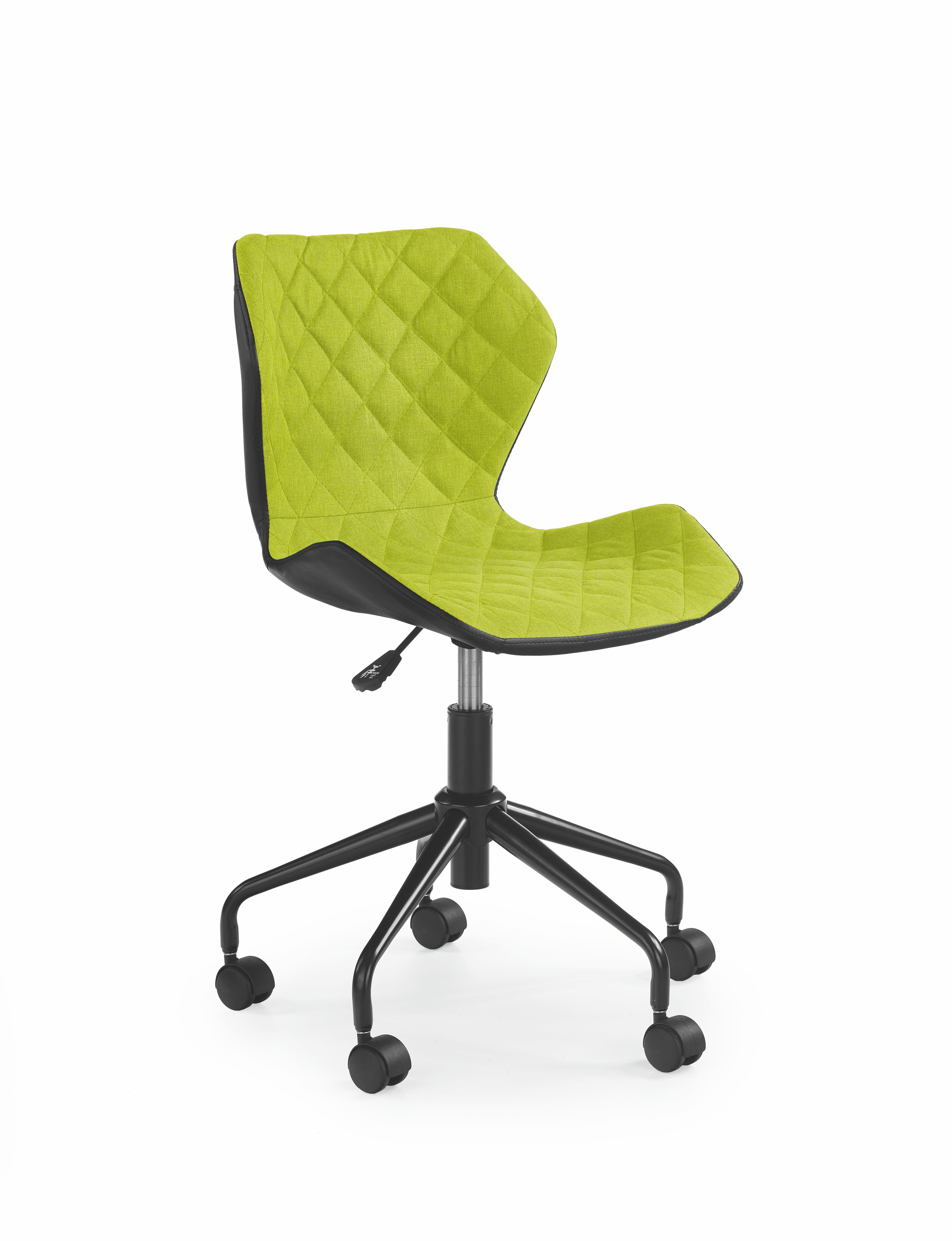 Dětská židle - Halmar - Matrix (zelená + černá)
