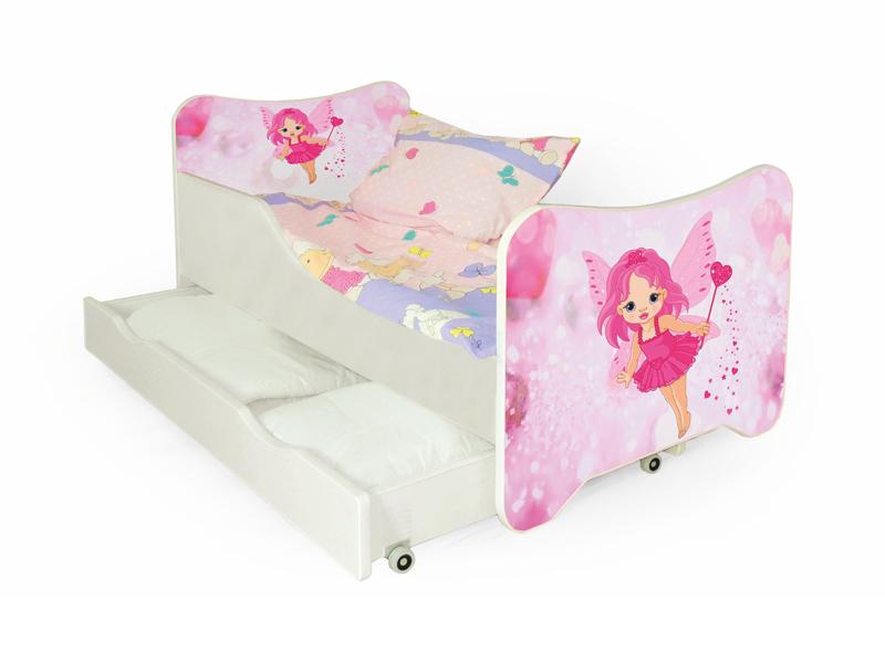 Jednolůžková postel - Halmar - Gerard Fairy (s roštem a matrací)
