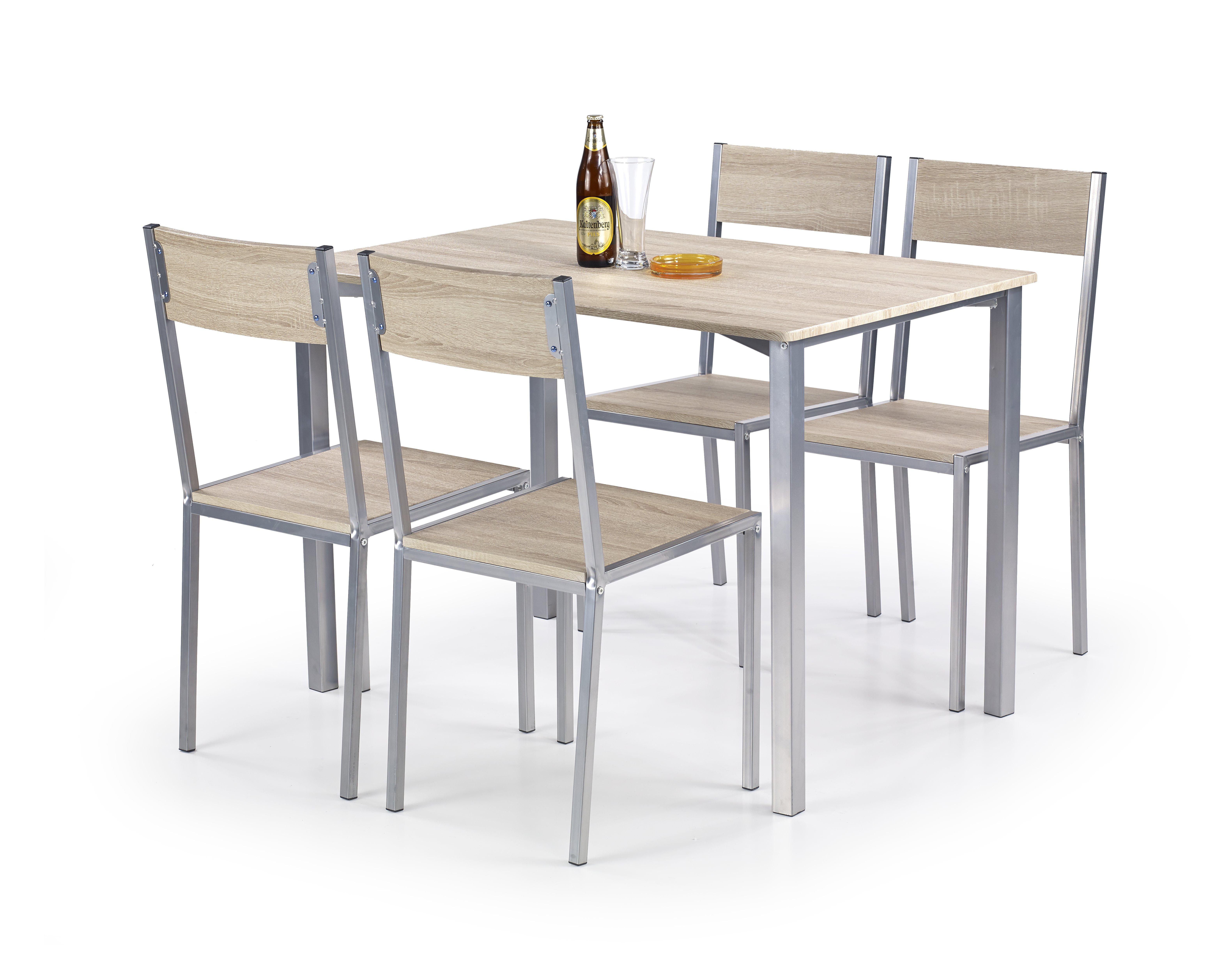 Jídelní set - Halmar - Ralph (pro 4 osoby)