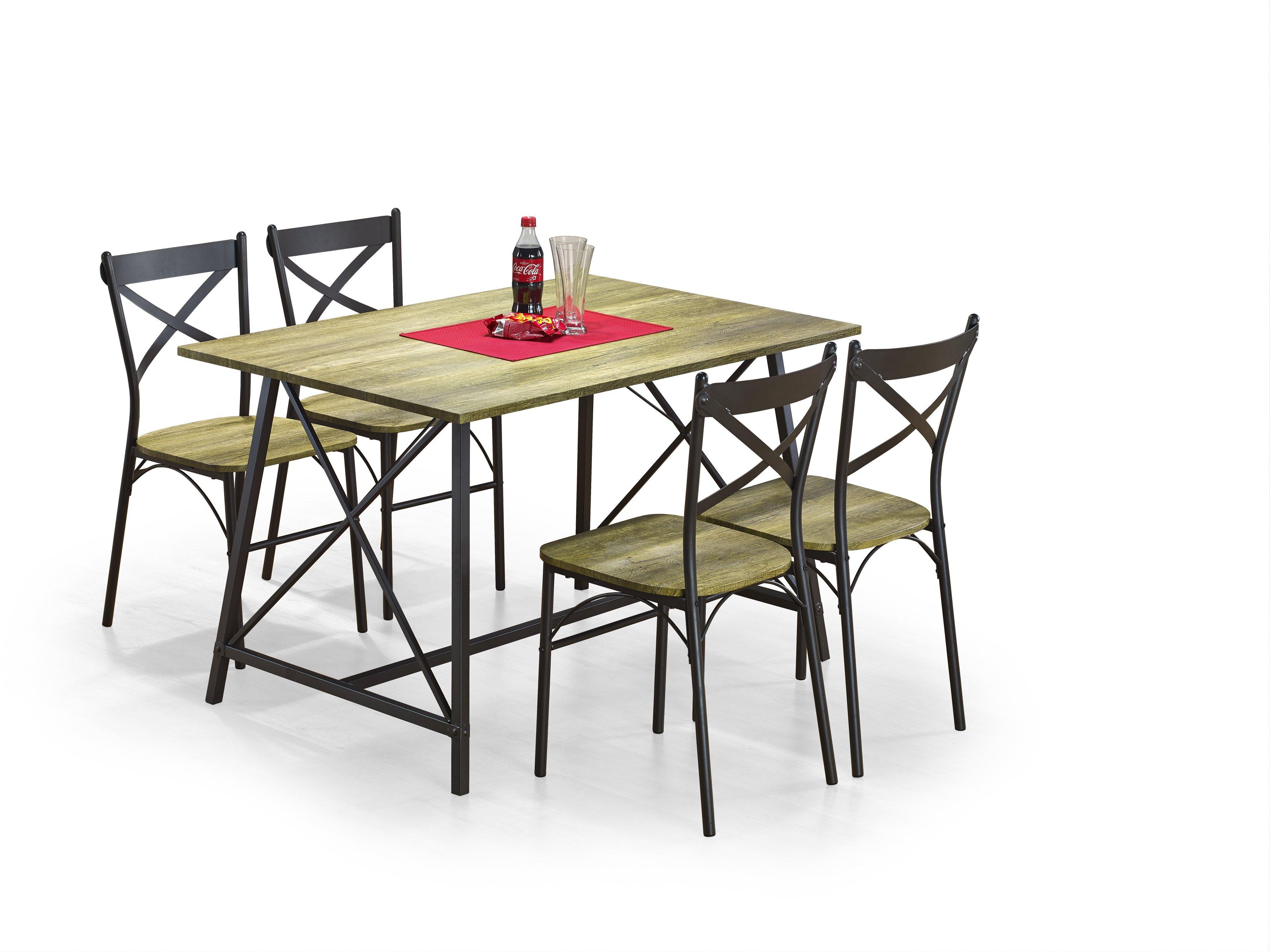 Jídelní set - Halmar - Reliant (pro 4 osoby)