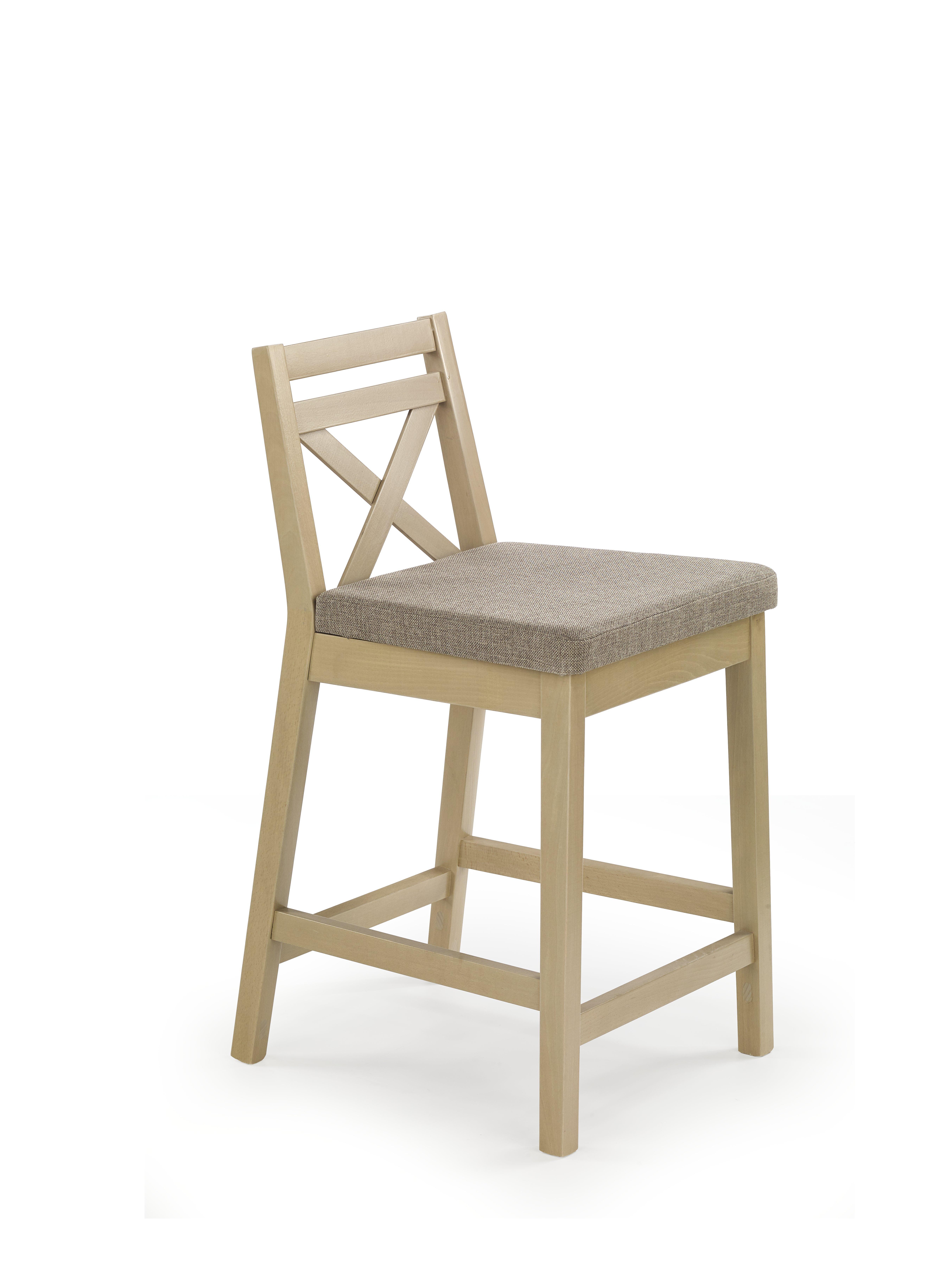 Jídelní židle - Halmar - Borys Low (dub sonoma + hnědá)