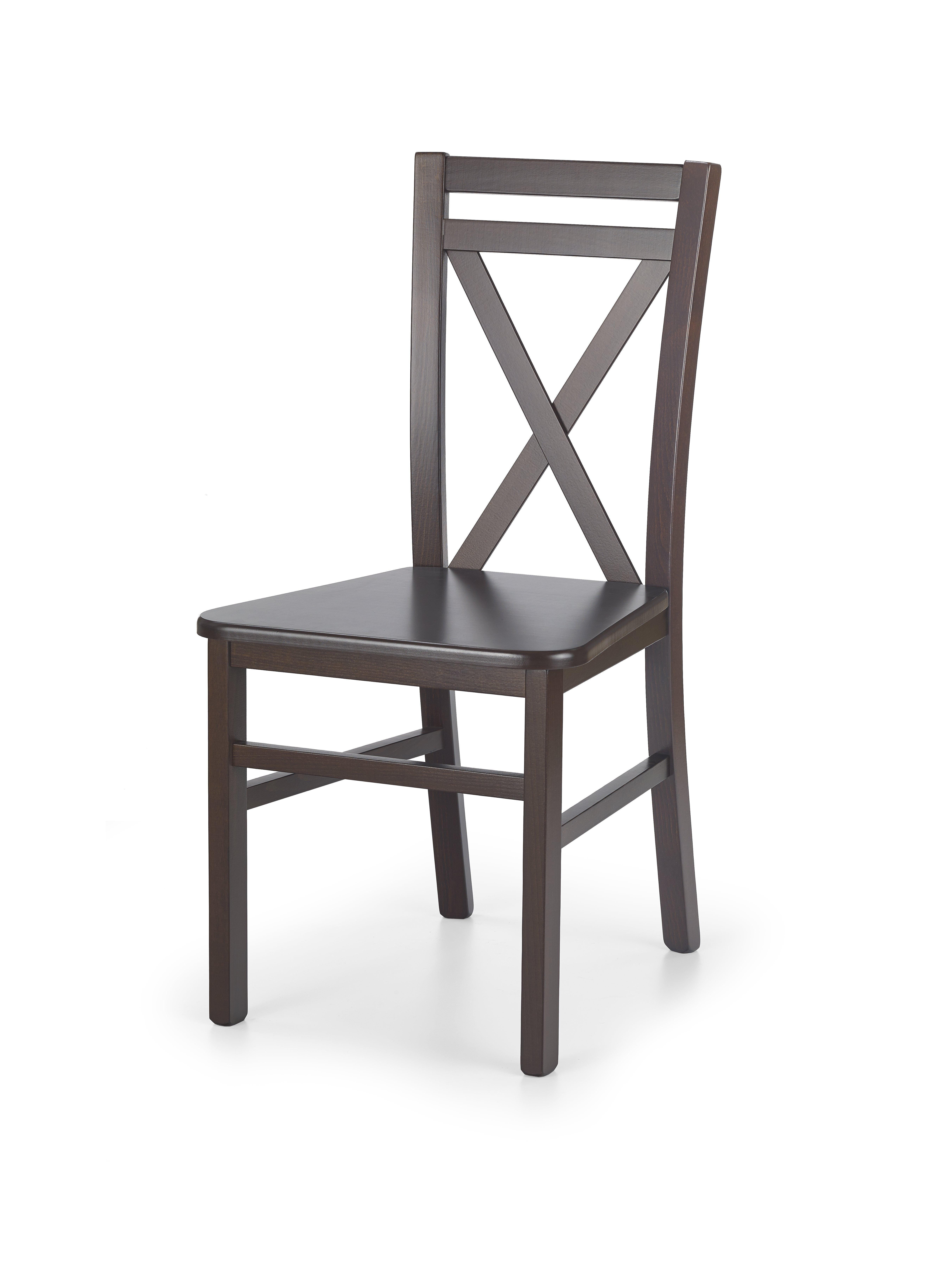 Jídelní židle - Halmar - Dariusz 2 (ořech tmavý)