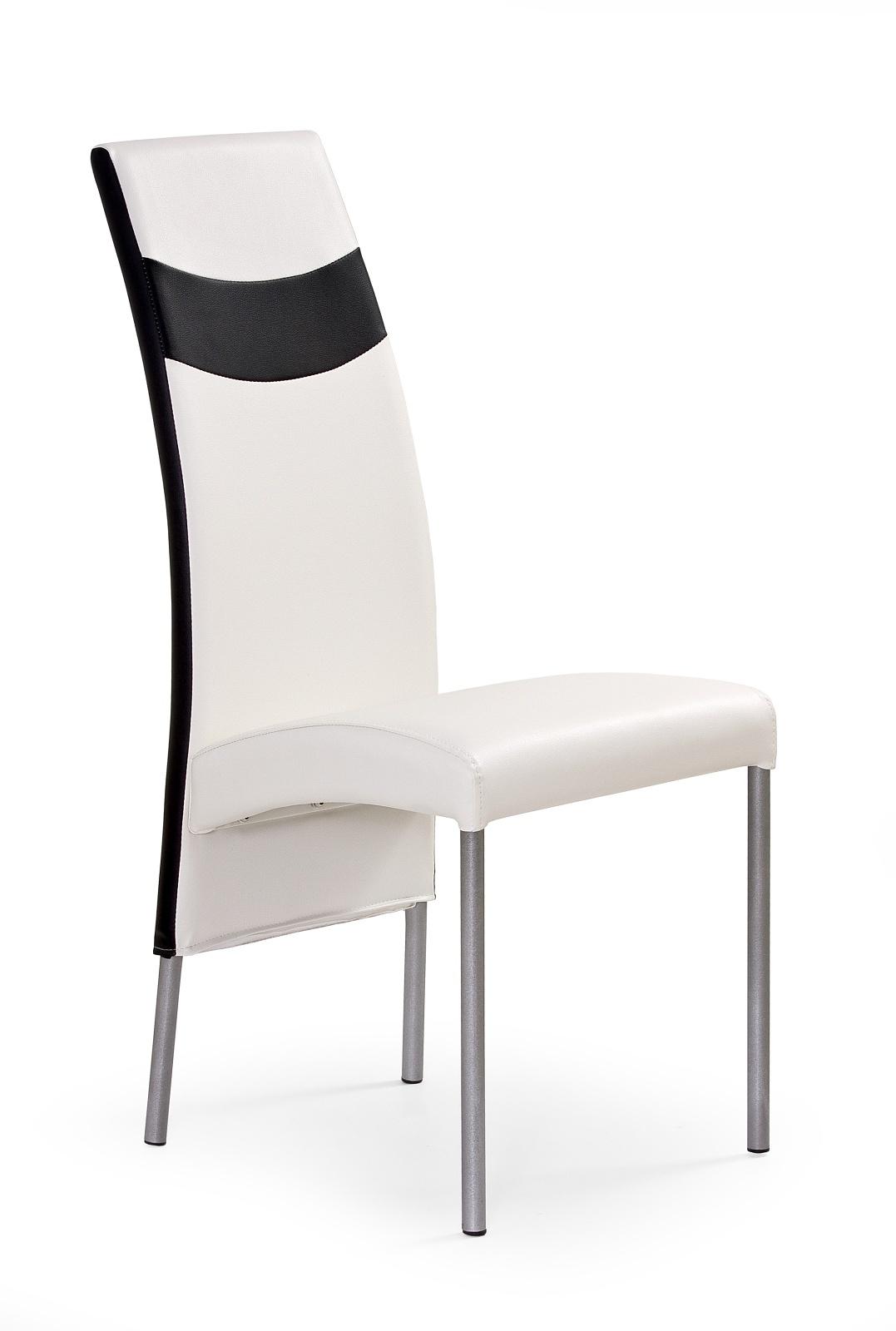 Jídelní židle - Halmar - K51 bílá + černá