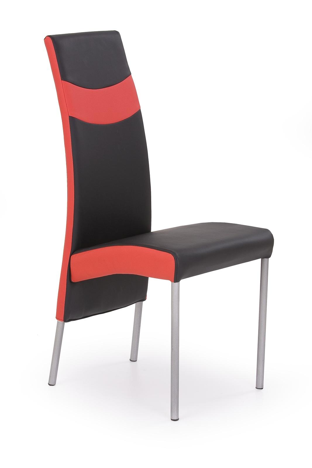 Jídelní židle - Halmar - K51 černá + červená