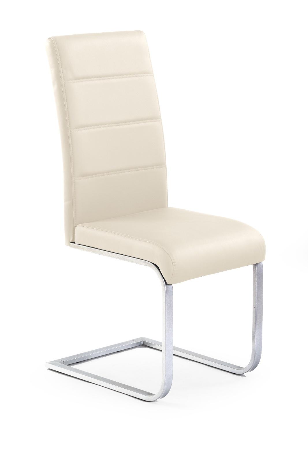 Jídelní židle - Halmar - K85 tmavokrémová