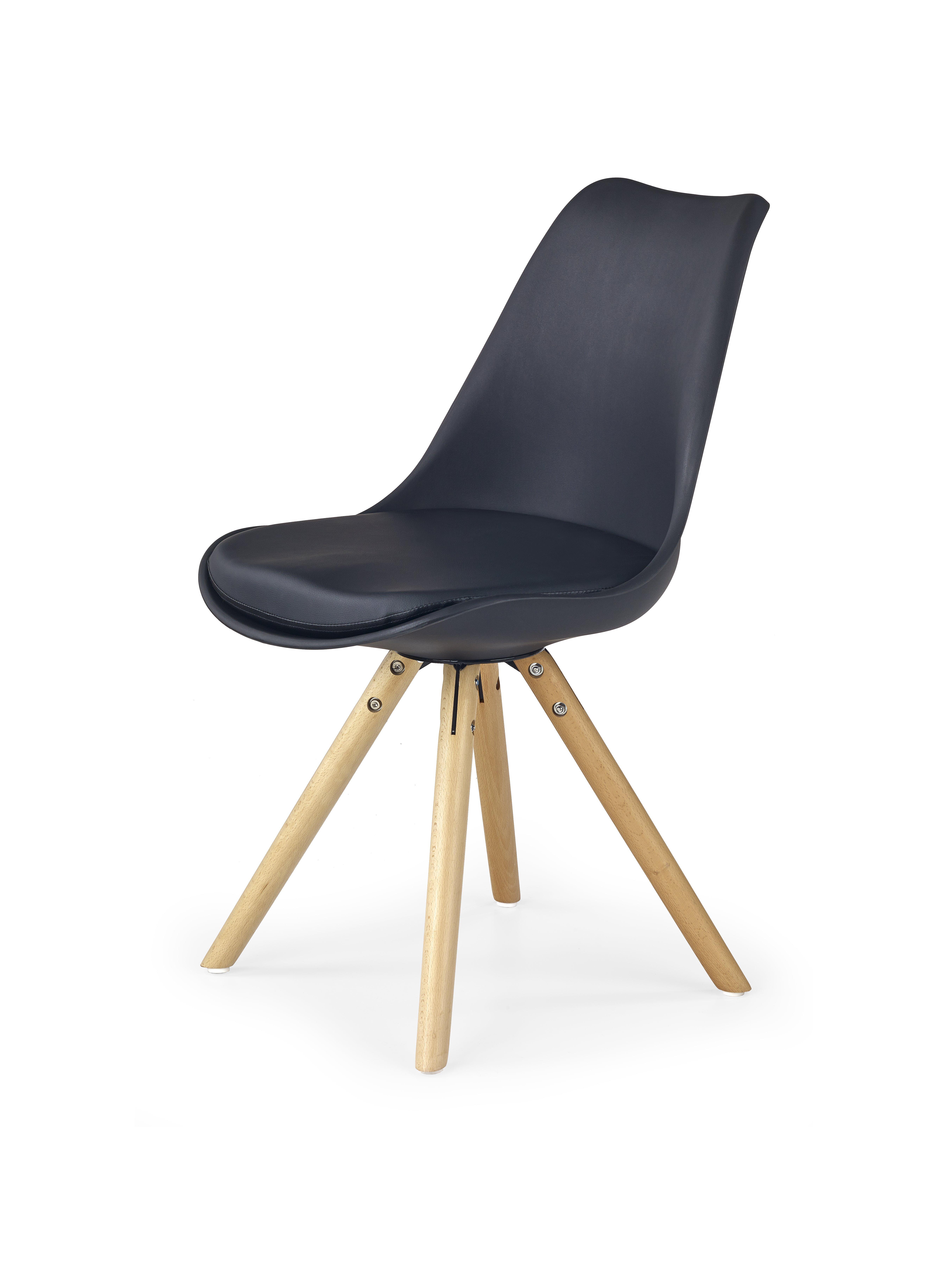 Jídelní židle - Halmar - K201 (černá)