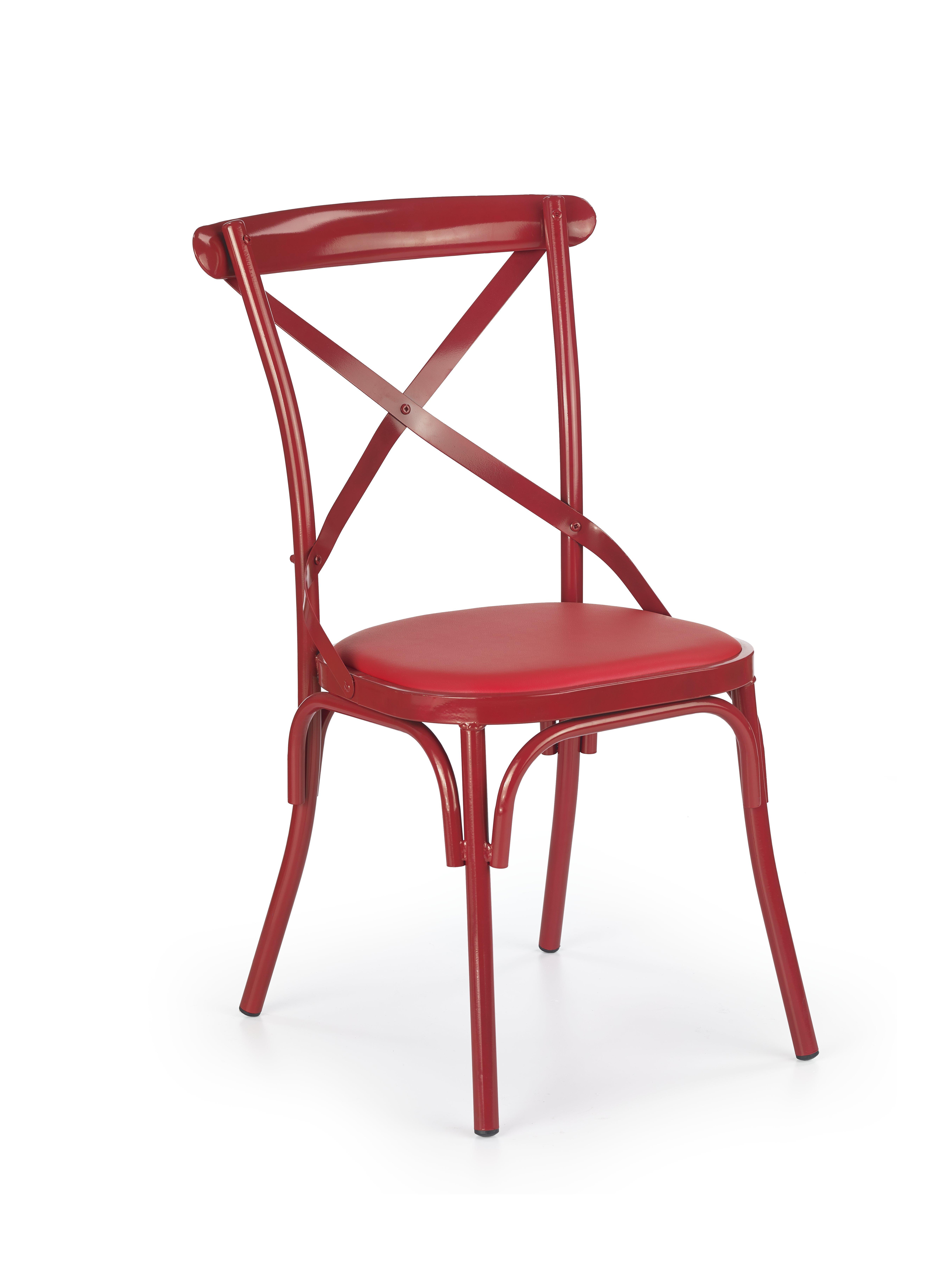 Jídelní židle - Halmar - K216 (červená)