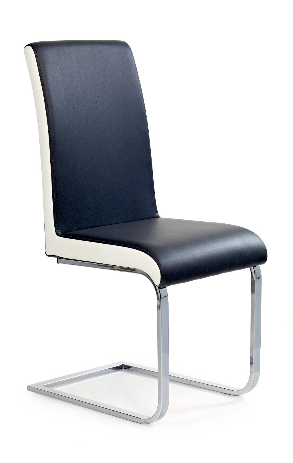 Jídelní židle - Halmar - K103 černá + bílá