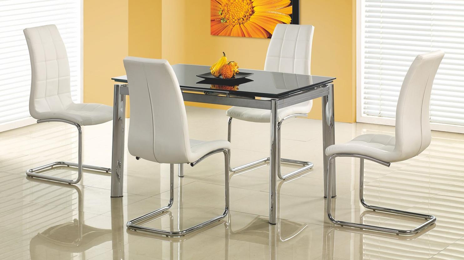 Jídelní stůl - Halmar - Lambert černá (pro 4 až 8 osob)