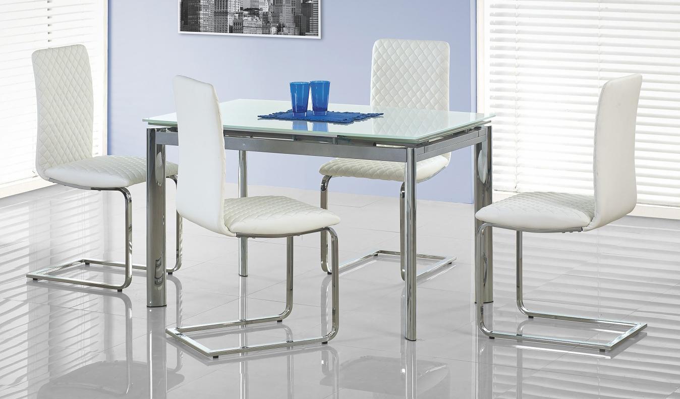 Jídelní stůl - Halmar - Lambert bílá (pro 4 až 8 osob)
