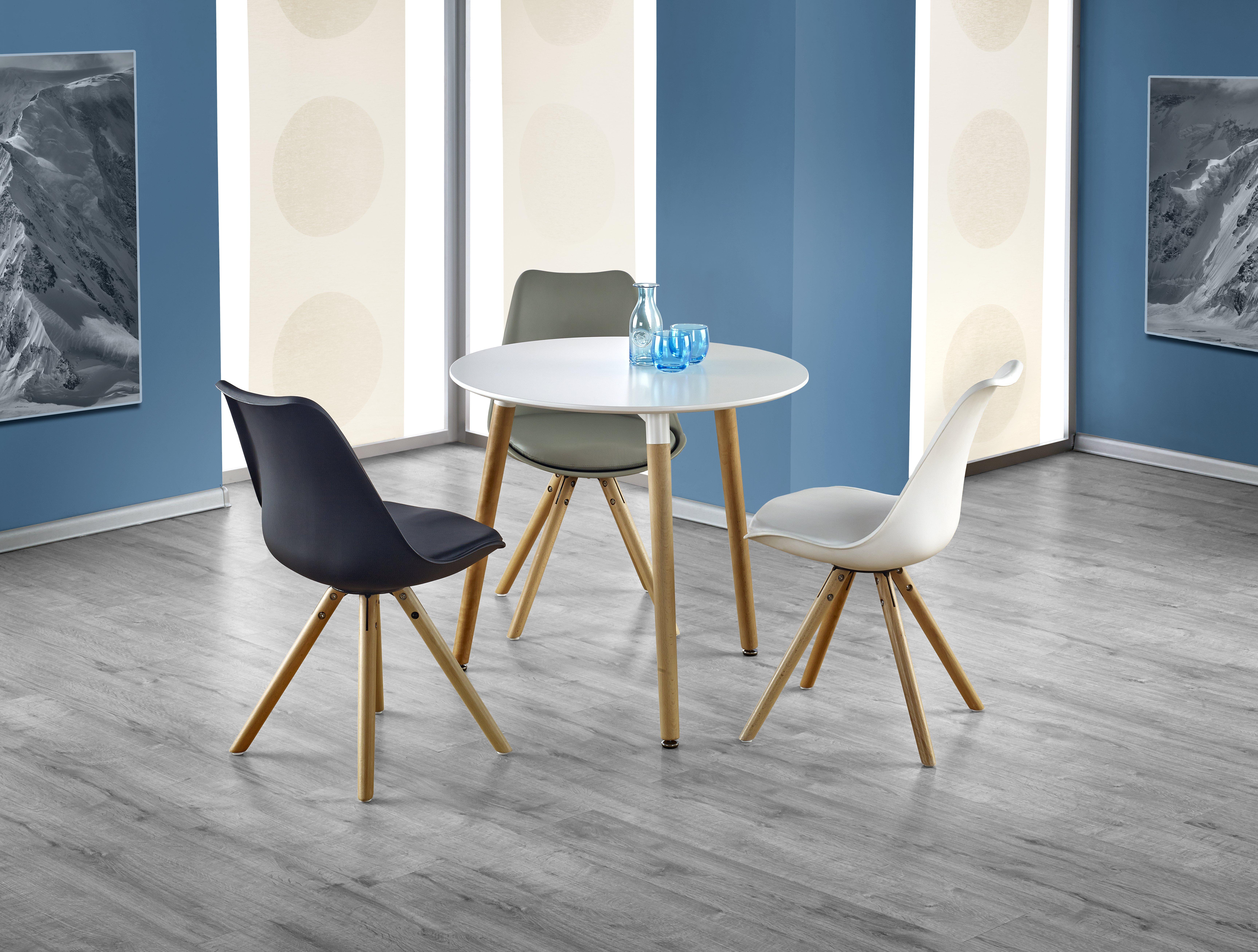 Jídelní stůl - Halmar - Socrates kulatý (pro 4 osoby)