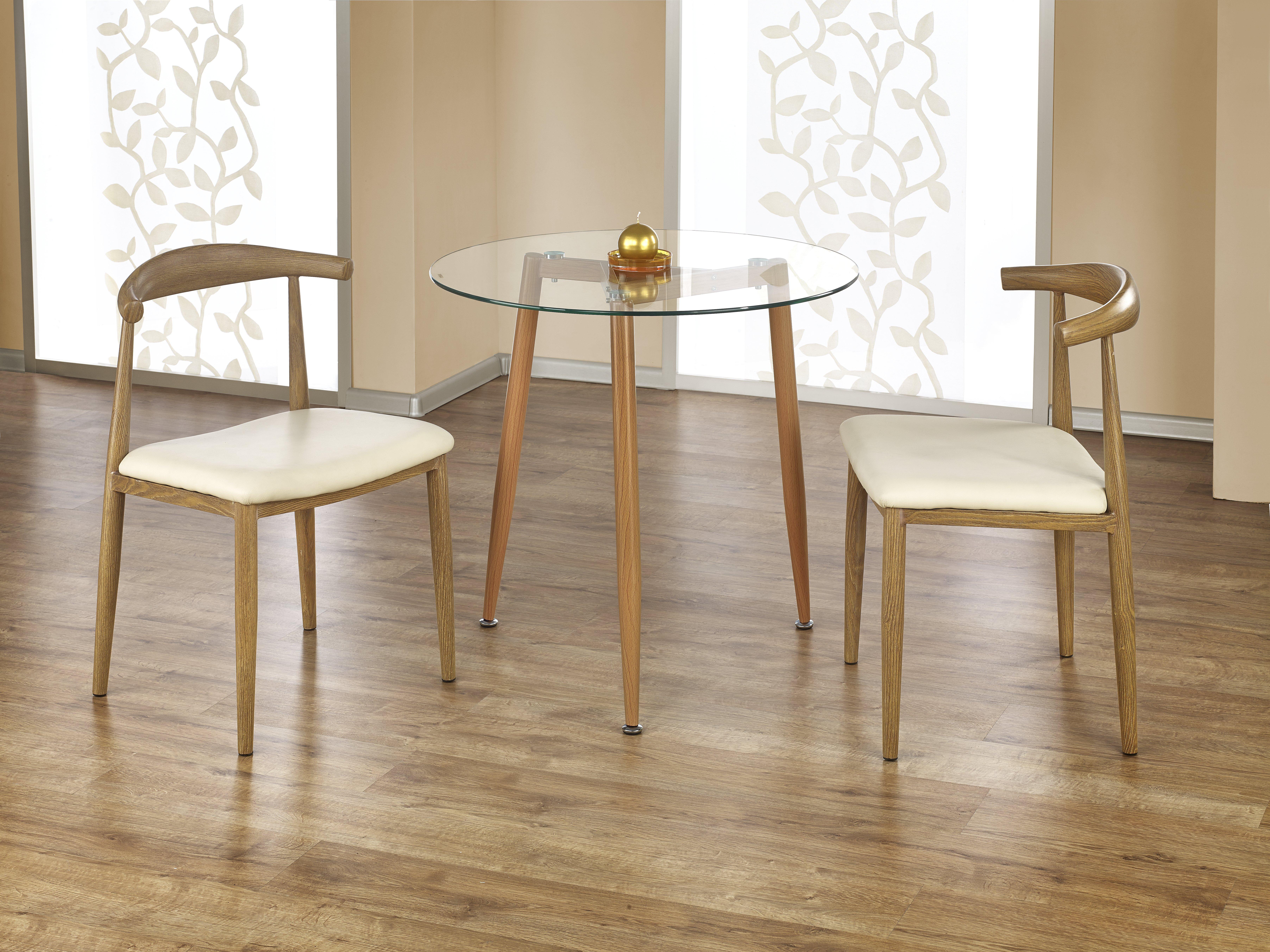 Jídelní stůl - Halmar - Ulster (kulatý) (pro 4 osoby)