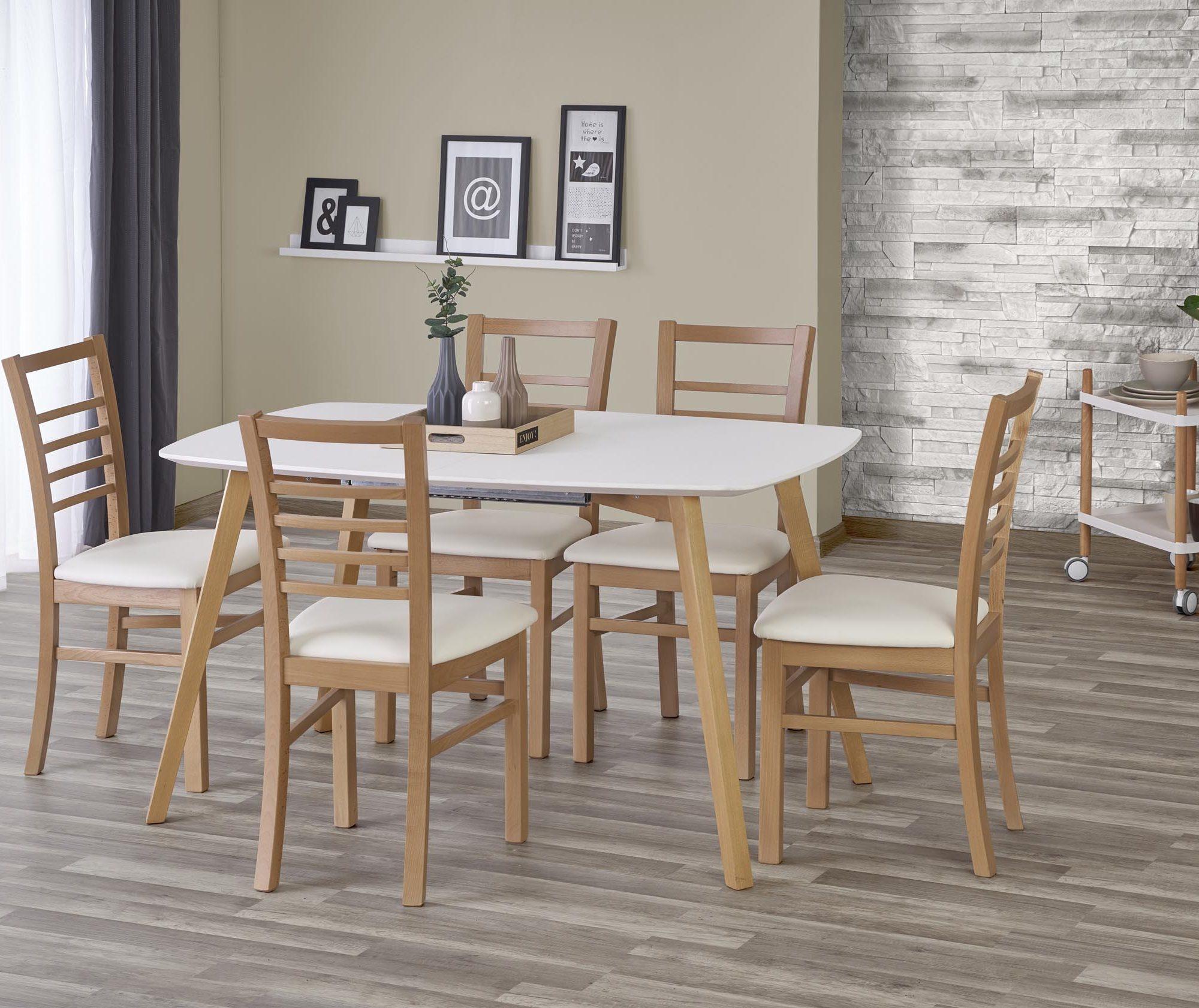 Jídelní stůl - Halmar - Kajetan (135 x 200) (pro 6 až 8 osob)