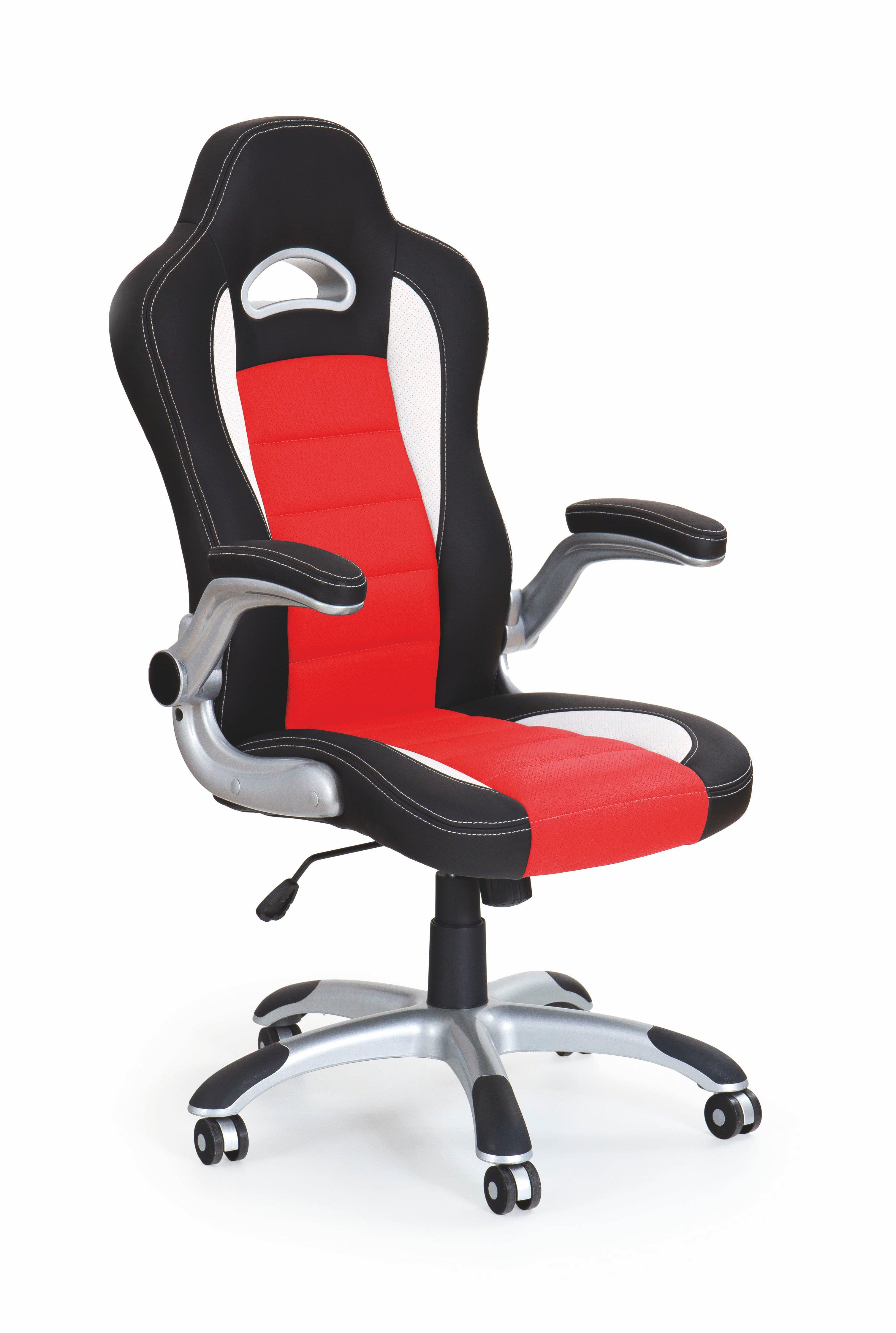 Kancelářské křeslo - Halmar - Lotus (černá + červená)