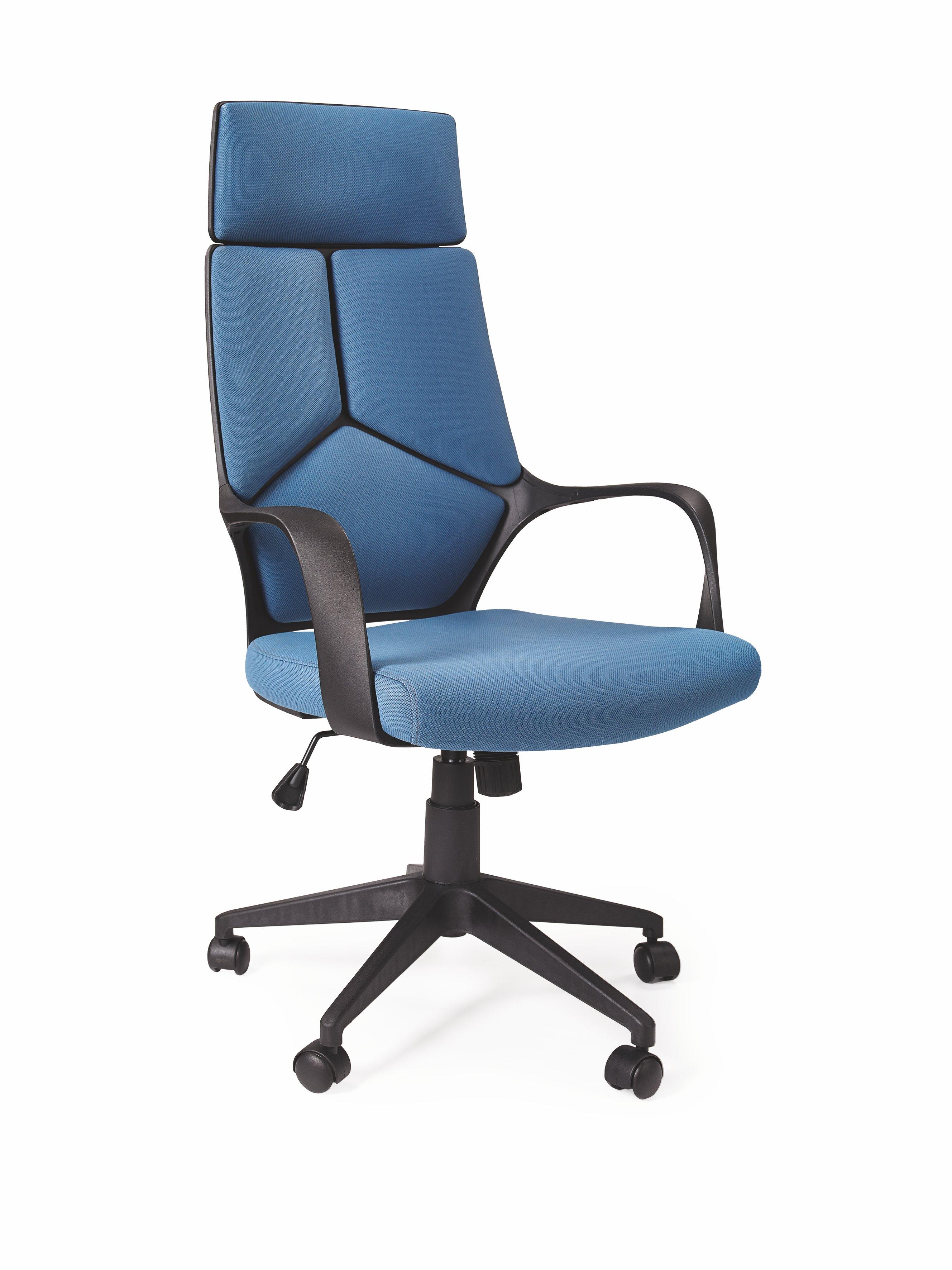 Kancelářské křeslo - Halmar - Voyager (modrá + černá)